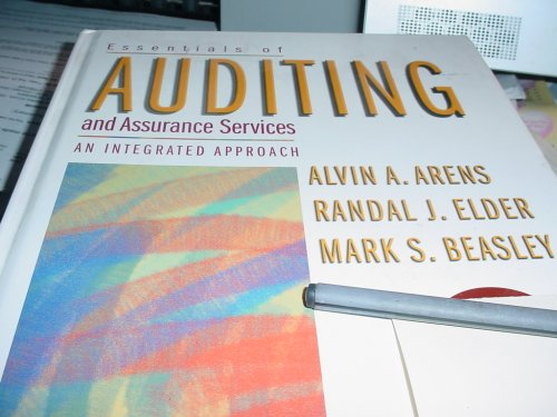 9780130465962: Essentials of Auditing and Assurance Services an Integrated Approach (review copy)