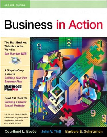 9780130466198: Business in Action, Second Edition