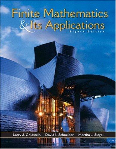 9780130466204: Finite Mathematics and Its Applications