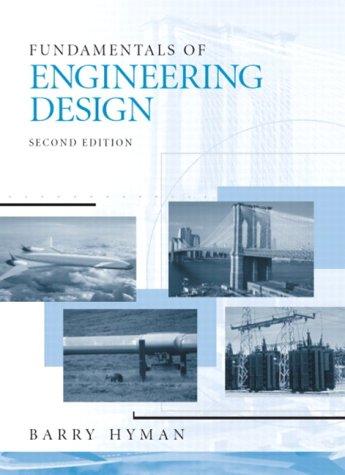 9780130467126: Fundamentals of Engineering Design (2nd Edition)