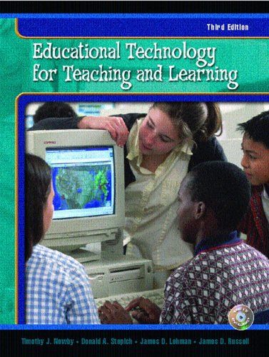 9780130467140: Educational Technology for Teaching and Learning (3rd Edition)
