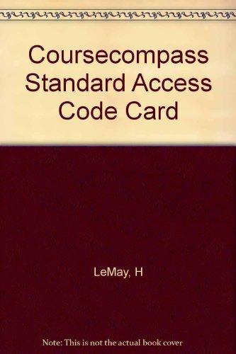 9780130470386: Coursecompass Standard Access Code Card