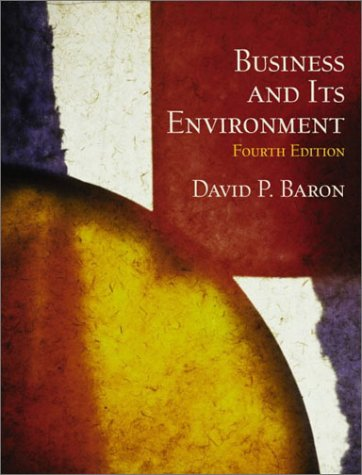 9780130470645: Business and Its Environment (4th Edition)