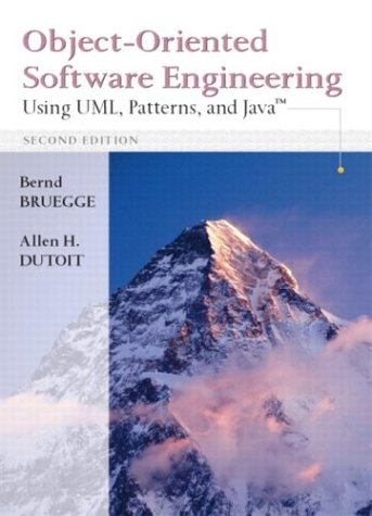 9780130471109: Object-Oriented Software Engineering: Using UML, Patterns and Java (2nd Edition)