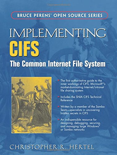 9780130471161: Implementing CIFS: The Common Internet File System