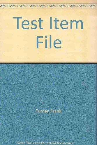 9780130471963: Test Item File