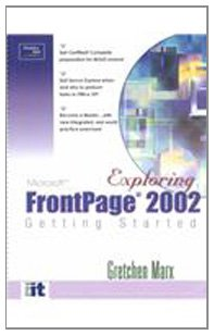 9780130472113: Getting Started with Frontpage 2002