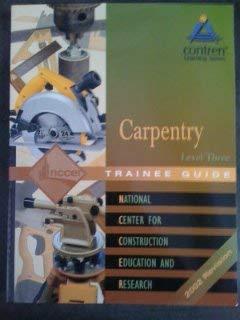 9780130472144: Carpentry Level Three