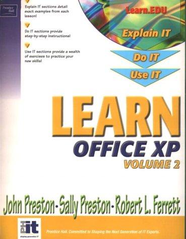 9780130473752: Learn Office XP (Volume II)
