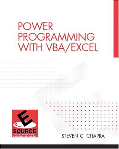 9780130473776: Power Programming with VBA/Excel