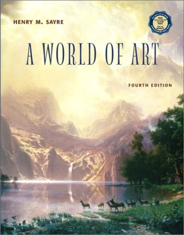 9780130474803: A World of Art with CD-ROM (4th Edition)