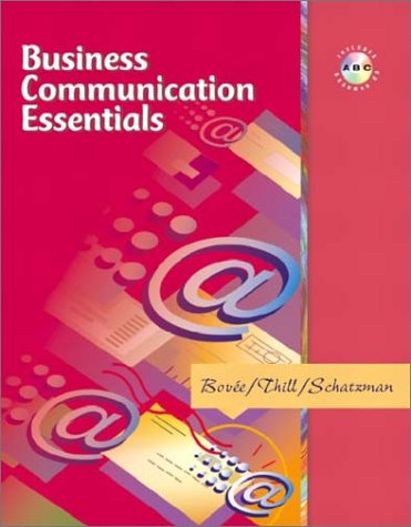 9780130475480: Business Communication Essentials