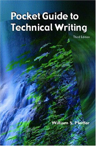 9780130476111: A Pocket Guide to Technical Writing, Third Edition