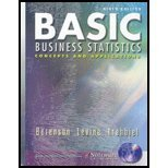 Basic Business Statistics: Concepts And Applications: Mark L.; Krehbiel,