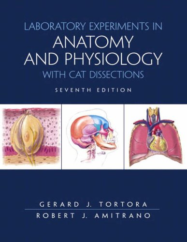 9780130477910: Laboratory Exercises in Anatomy and Physiology with Cat Dissections