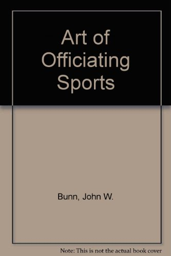 9780130478030: The Art of Officiating Sports