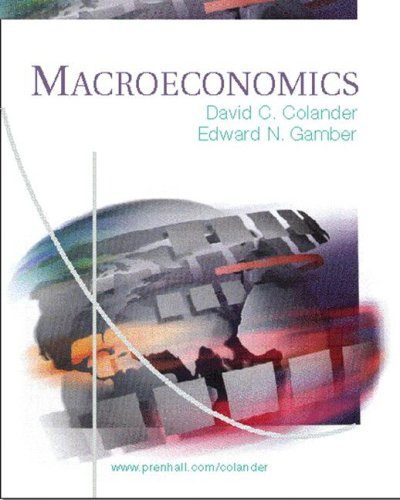 9780130478825: Macroeconomics and Active Graph CD Package
