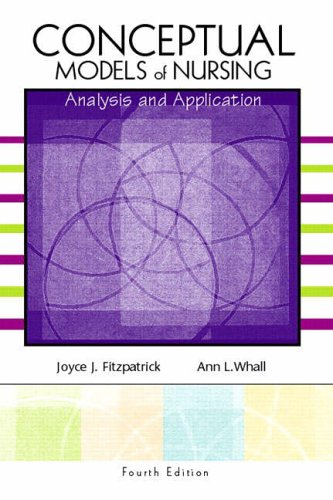 9780130480606: Conceptual Models of Nursing: Analysis and Application