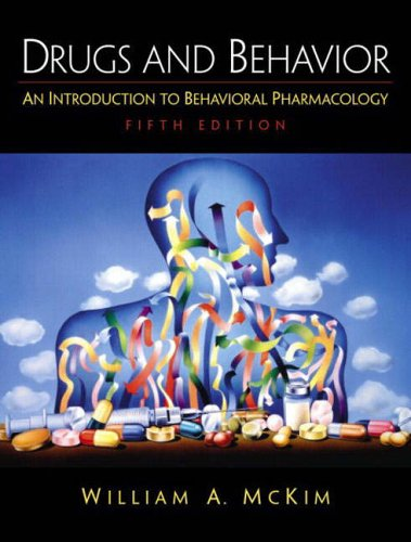 9780130481184: Drugs and Behavior: An Introduction to Behavioral Pharmacology
