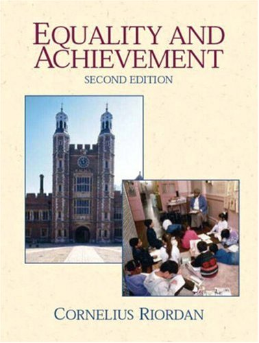 9780130481771: Equality and Achievement: An Introduction to the Sociology of Education (2nd Edition)