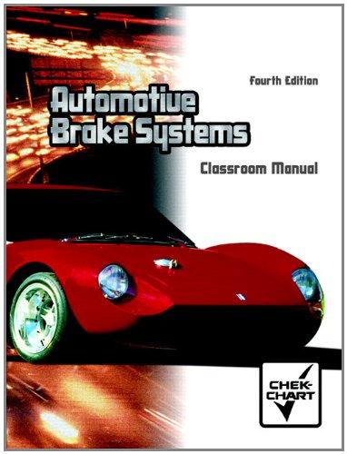 9780130482037: Automotive Brake Systems  (Chek Chart)