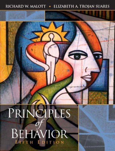 9780130482259: Principles of Behavior