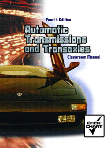 Automatic Transmission and Transaxle Set: Classroom Manual: Chart, Chek