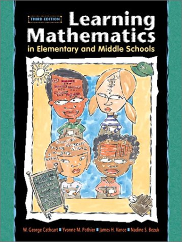9780130483430: Learning Mathematics in Elementary and Middle Schools (3rd Edition)