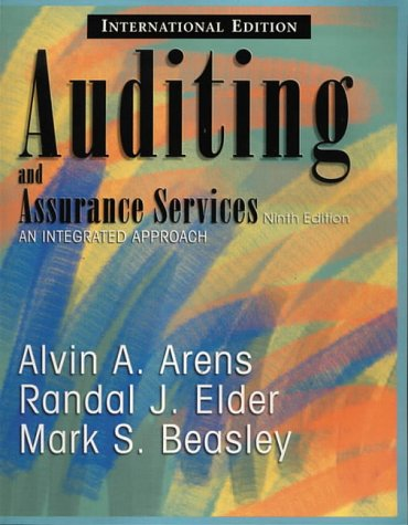 9780130483751: Auditing and Assurance Services: An Integrated Approach (International Edition)