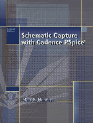 9780130484000: Schematic Capture with Cadence PSpice (2nd Edition)