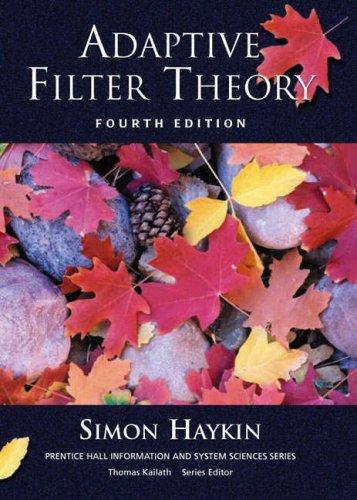 9780130484345: Adaptive Filter Theory