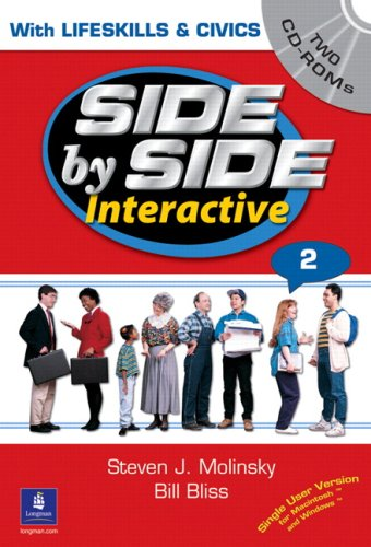9780130484703: Side By Side Interactive 2 (With Lifeskills & Civics) - Two CDROMs for Windows and Mac