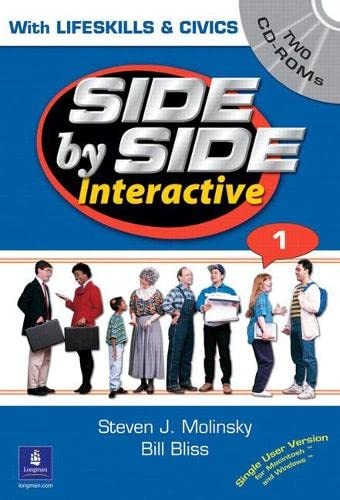 9780130484772: Side by Side Interactive 1, With Civics/Lifeskills, CD-ROM (Side By Side)