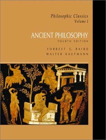 9780130485564: Philosophic Classics