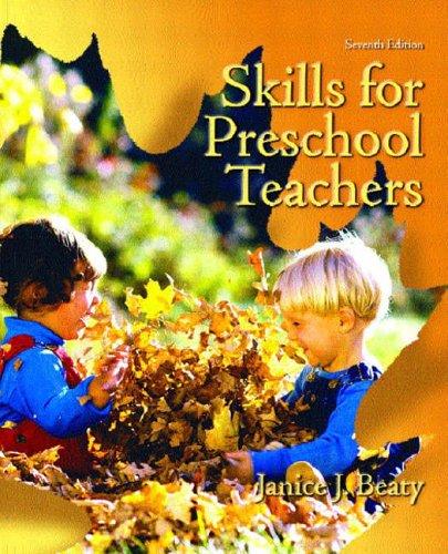9780130486097: Skills for Preschool Teachers