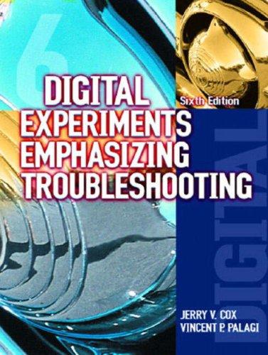 9780130486752: Digital Experiments Emphasizing Troubleshooting