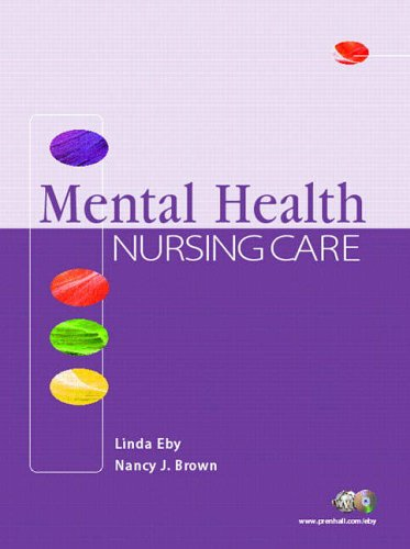9780130487513: Mental Health Nursing Care