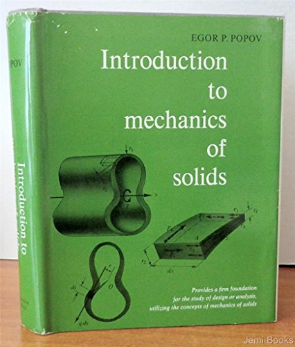 9780130487766: Introduction to Mechanics of Solids.