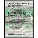 9780130487827: Electronics and Computer Math Student study guide with selected solutions to accompany