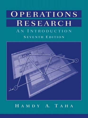 9780130488084: Operations Research: An Introduction (7th Edition)