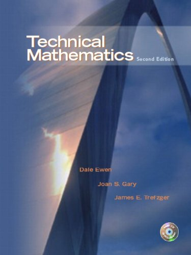 9780130488107: Technical Mathematics (2nd Edition)