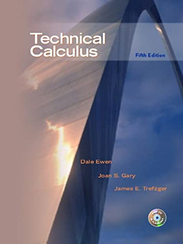 9780130488183: Technical Calculus (5th Edition)