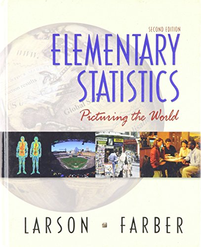 9780130488855: Elementary Statistics: Picturing the World