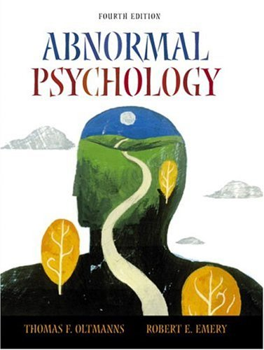 9780130488909: Abnormal Psychology, Fourth Edition