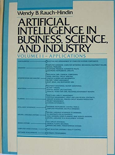 9780130489012: Artificial Intelligence in Business, Science and Industry: Applications v. 2