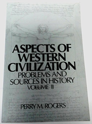 9780130489685: Aspects of Western Civilization: Problems and Sources v. 2