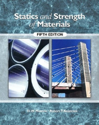 9780130490353: Statics and Strength of Materials, Fifth Edition