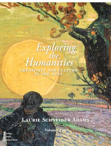 9780130490872: Exploring the Humanities: Creativity and Culture in the West, Vol. 2