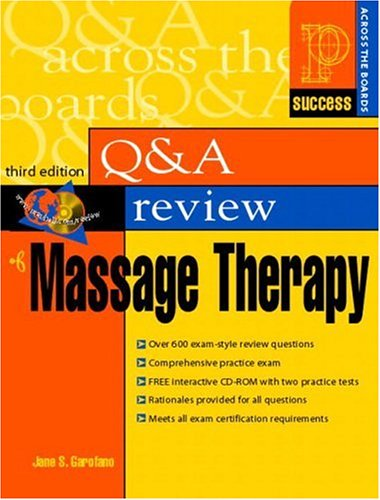 9780130490988: Prentice Hall Health's Question & Answer Review of Massage Therapy, Third Edition