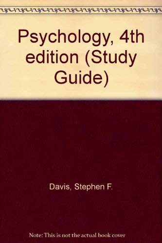 9780130492425: Psychology, Fourth Edition, Study Guide